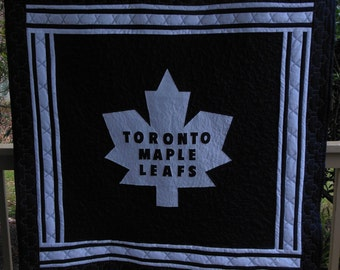 Toronto Maple Leafs Sports Quilt -  Cuustom Order