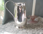 Silver Plate Sheridan Water Pitcher