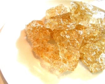 Gold, Hard Candy, Thick Nuggets, Sea Glass, Wedding Cake