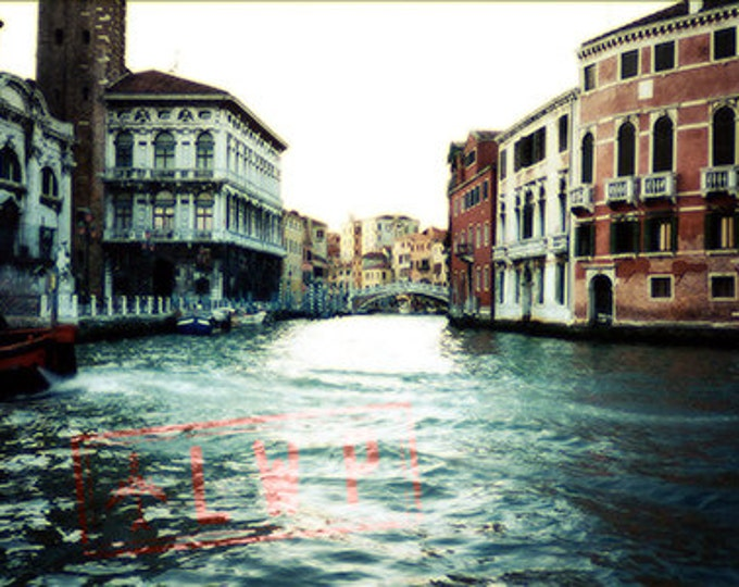 On the Grand Canal, Venice Italy, International Travel, Architecture, Cityscape - 11x14 Fine Art Photograph
