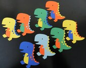 Dinosaur die cuts/Cupcakes toppers/Centerpieces
