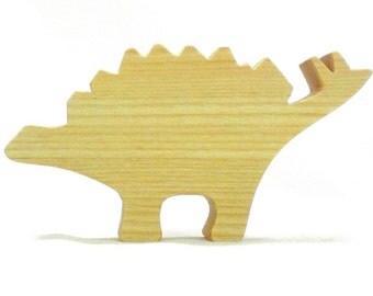 Wooden Dinosaur Toy Stegosaurus