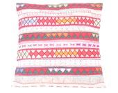 Cushion Cover Pillow HMONG Hill Tribe Thailand FAIR Trade Handmade (CS013-NAT)