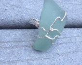 Seaglass Cocktail Ring