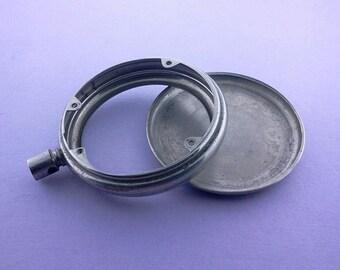 Pocket watch case Vintage supply Steampunk Watch repair Altered art BL083