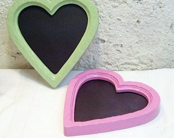 Painted Frames Heart Chalkboards