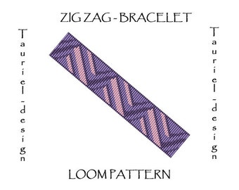 Loom pattern - Zig Zag
