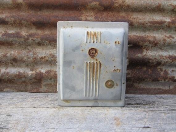 old metal industrial panel fuse box west penn power gray art old fuse box panel service