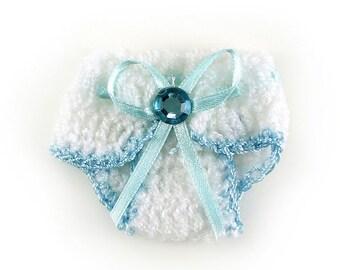 shower favors knit crochet baby diaper baby shower decoration favor 2