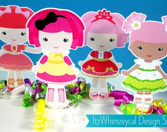 LaLa Rag Doll Centerpiece Set