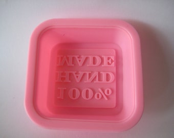 Flexible Silicone Soap Mold Hand Made 100%