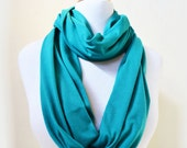 Womens infinity scarf - shawl neckwarmer - accessories - loop eternity circle