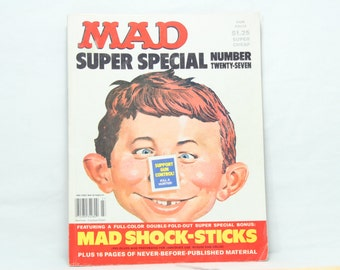 MAD Super Special Number 27, Copyright 1974 and 1978, Vintage MAD Magazine