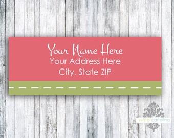 Return Address Labels - Stickers - Aloha