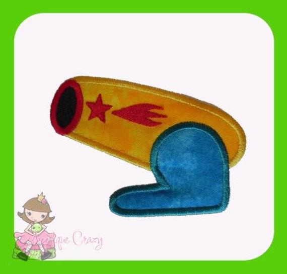 Cannon Applique design