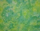 Hand Dyed Quilt Cotton Fabric, Garden of Eden, DIFFERENT SIZES (LS) #149