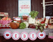 Farmer's Market Poster PDF. Farmer's Market Collection.