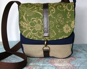 St. Clair -- Crossbody messenger bag // Adjustable strap // Field bag
