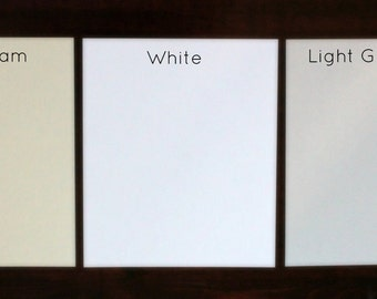 Ten extra blank pages for our journals/ guest books