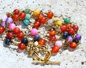 Carnival Extra Long Strand Necklace