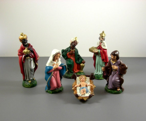 vintage japanese nativity