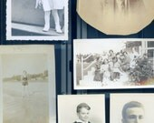 Great lot of 10 vintage photos for craftwork