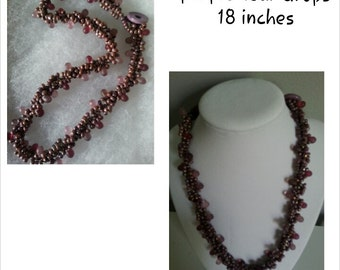 hand beaded necklace