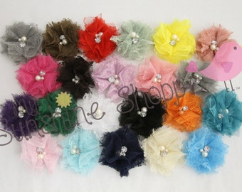New! LACE Petite Princess Flowers - set of 24