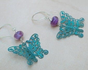 Earrings - Boho Butterfly