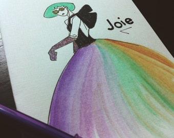 Joy individual card