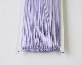 5.5 yards lilac Soutache Braid, Passementerie Braid, embroidery, lilac Soutache cord, Passementerie cord Trim, gimp cord, soutache