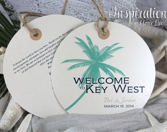 Welcome Bag tags