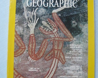 National Geographic February 1973 Australia Mars