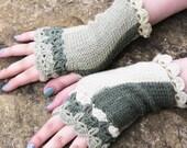 Knitted Wrist Warmers Women's Winter Cozy Fingerless Gloves BEST Stocking Stuffers Lime Green, Fingerless Gloves, Crochet Mittens, Glove