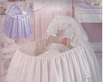 Bassinet Skirt Patterns 106