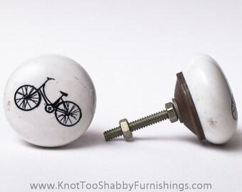 Round Bicycle Drawer Pull
