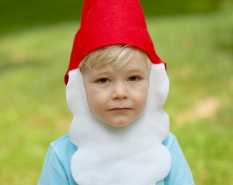 Child size gnome hat Halloween costume