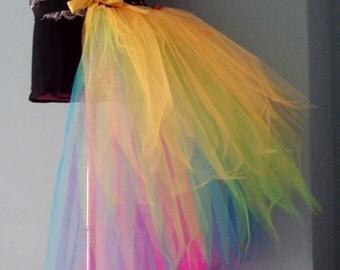 Burlesque Bustle Belt Rainbow Colour Run all sizes avaiable at checkout