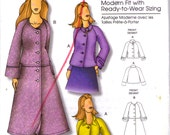 2008's Sewing Pattern - Butterick  B5262 Jacket and Coat  Size Xsm to Xlg  Uncut, Factory Folded