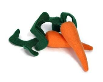 Plush Carrots