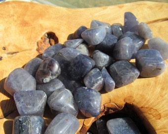 Iolite Tumbled Stone T44