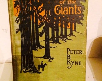 Vintage Book Hardcover The Valley of the Giants by Peter B. Kyne 1918