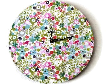 Shabby Chic Wall Clock, Home and Living, Decor & Housewares, Wall Clocks, Eco Friendly Decor, Unique Gift