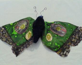 Giant MothTextile Sculpture / Custom Orders available