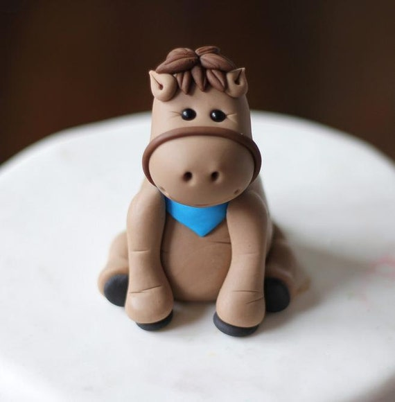 Horse Cake Topper Tutorial