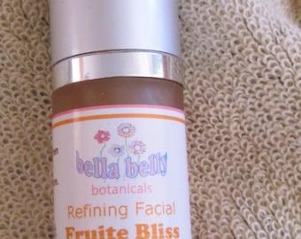 BellaBelly Facial Serum, organic Fruit Bliss Refining Facial Serum