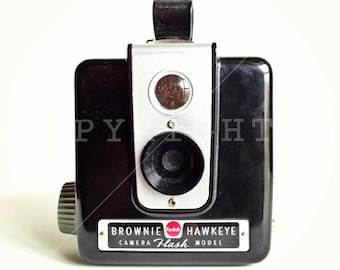 brownie camera color print (5x5)