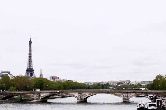 travel poster Paris print Eiffel tower decor landscape photography France wall art Paris decor cityscape art  4x6 5x7 6x8 8x10 8x11 10x15