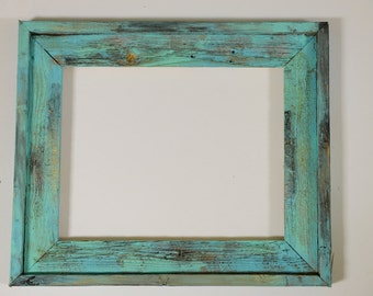 Barn Wood Frame | Picture Frame | Shabby Chic | Distressed Wood | Made to Order | Free Shipping | 11x14 Frame | 16x20 Frame | 20x24 Frame
