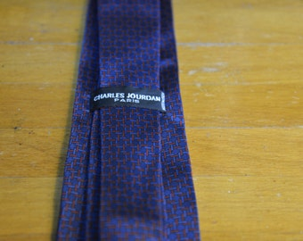 Charles Jordan Silk Tie
